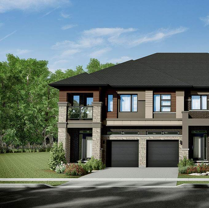 Townhome in Brantford, location